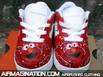 custom airbrush shoes near me